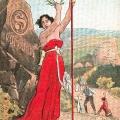 Im Deutschen Reich werden gern Grußkarten verschickt, die von den Maifeierlichkeiten berichten.