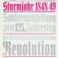 """Ausstellungsplakat des """"Museums für Deutsche Geschichte"""" der DDR (1973): Getreu der Marxschen Lehre wird die Revolution als """"bürgerlich-demokratisch"""" gedeutet."""