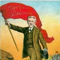 Mit ihrem Parteivorsitzenden August Bebel protestiert die SPD gegen das Dreiklassenwahlrecht, das bis 1918 in den deutschen Einzelstaaten galt.