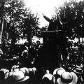 SPD-Wahlrechtsdemonstration auf den Canstatter Wiesen (1910)...