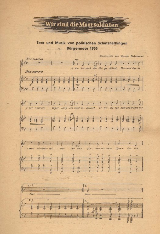 Lieder mit sozialem hintergrund