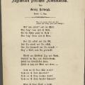 """Ein Jahr zuvor war das Bundeslied oder auch die """"Deutsche Marseillaise"""" aus der Feder von Georg Herwegh entstanden."""