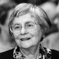 Zeitlebens engagiert für die Sozialdemokratie: Susanne Miller war von 1996 bis zu ihrem Tod 2008 Vorsitzende der Arbeitsgemeinschaft (1995).