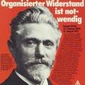 August Bebel als Widerstandskämpfer der Arbeiterbewegung: Zum 100. Jahrestag des Sozialistengesetzes erinnert die IG Metall 1978 an sein Wirken.