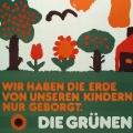 Schon 1979 trat jedoch eine Partei auf das politische Parkett, deren Markenzeichen die Umweltpolitik werden sollte: …<br> Bildrechte: AdsD
