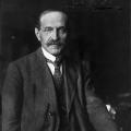 Hugo Haase gehörte zu den Kritikern des Burgfriedens; 1919 wurde der ehemalige SPD-Vorsitzende ermordet.