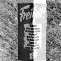 Auch Plakataktionen entlang der deutsch-deutschen Grenze dienten der Förderung von Widerstandsaktivitäten in der DDR.