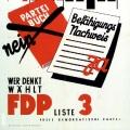 ...was die FDP in einem Wahlplakat 1953 aufgreift.