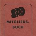 Die Farben wechselten häufig: Hier eine Ausgabe von 1950 im Rot der SPD.