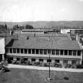 1951 erfolgt der Umzug in die Bundeshauptstadt: Zuerst nur als Provisorium gedacht, bleibt das Gebäude in der Friedrich-Ebert-Allee die Zentrale für 24 Jahre. Der simple Flachbau wird rasch als