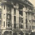 Wut auf die SPD und die Republik: Das Vorwärtsgebäude wird Anfang 1919 bei Straßenkämpfen stark beschädigt.