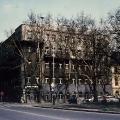 Ehemaliger Sitz des Exilvorstands in Prag: Nach der nationalsozialistischen Machtübernahme baut die SPD im Exil einen neuen Parteiapparat auf. Dabei dient Prag der Sopade bis 1939 als Zentrum (Foto etwa 1980).