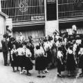 Der Vorwärtshof war vor allem bei der Sozialistischen Jugendbewegung beliebt (1932).<br/>Bildrechte: unbekannt