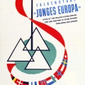 Europäisches Treffen der Falken im Allgäu 1952.