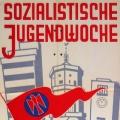 Hier ein Plakat aus dem gleichen Jahr. Es ist die erste sozialistische Jugendwoche seit 1933.