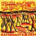 Wahlen zur Nationalversammlung 1919: Wahlaufruf des Werbediensts der sozialistischen Republik an Arbeiter wie andere Bevölkerungsgruppen.<br/>Bildrechte: AdsD