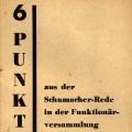 Zusammen mit der Rede Kurt Schumachers auf der Funktionärsversammlung in der Hamburger Flora 1947...