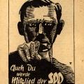 ...wirbt die SPD neue Mitglieder an.