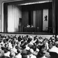 Funktionärskonferenz des SPD-Landesverbands Berlin in der Cecilienschule1953.