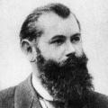 Alwin Gerisch (1890), gemeinsam mit Paul Singer erster SPD-Vorsitzender nach dem 'Sozialistengesetz', tauscht mit August Bebel zwei Jahre später die Rollen und war fortan bis 1912 der Kassierer im SPD-Parteivorstand.
