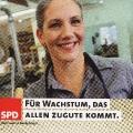 Auch bei der Bundestagswahl 2005 steht der Mittelstand im Mittelpunkt.<br> Bildrechte: AdsD