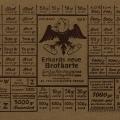 Steigende Preise und Versorgungsengpässe veranlassen die SPD 1951 zu dieser Karikatur Ludwig Erhards. Dessen ,freie' Marktwirtschaft führe zur Zwangswirtschaft und somit die Brotkarte wieder ein.<br> Bildrechte: AdsD