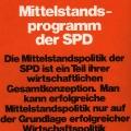 Im Bundestagswahlkampf 1969 priorisiert die SPD ihre Wirtschaftspolitik als Grundlage einer erfolgreichen Mittelstandpolitik.<br> Bildrechte: AdsD