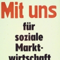 """""""Mit uns für die soziale Marktwirtschaft"""" --Mitgliederwerbung der SPD (1990)…<br> Bildrechte: AdsD"""