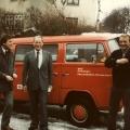 Bundespolitiker vor Ort: Willy Brandt besucht 1981 den SPD-Ortsverein Heuchelheim.