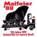 Gedenken an die Wurzeln der Sozialdemokratie: Die SPD Linden-Limmer feiert 1988 den 125. Jahrestag der Gründung des ADAV.