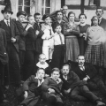 Mitglieder des SPD-Ortsvereins Godesberg bei Bonn (1915).