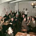 Mit Enthusiasmus dabei: Abstimmung im SPD-Ortsverein Fürth 1955.