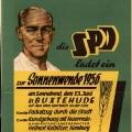 Der SPD-Ortsverein Buxtehude lädt ein: Die Sommersonnenwende 1956 als gemeinsames politisches Ereignis.