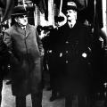 Otto Braun mit dem Vorsitzenden der SPD-Reichstagsfraktion Rudolf Breitscheid am 22. April 1932, zwei Tage vor der Wahl des Preußischen Landtags.3.Otto Braun mit dem Vorsitzenden der SPD-Reichstagsfraktion Rudolf Breitscheid am 22. April 1932, zwei Tage vor der Wahl des Preußischen Landtags.