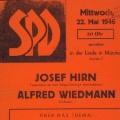 Auf kommunaler Ebene spielen Schriftsetzer ebenfalls noch lange eine wichtige Rolle in der SPD, wie die Wahlplakate von 1946...