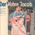 """Trotz zwischenzeitlichem und schließlich vollständigem Verbot durch die NSDAP übte """"Der Wahre Jacob"""" konsequent Kritik an Hitler..."""