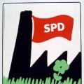 ...und Umweltverschmutzung. Auch die SPD erkennt die neuen Herausforderungen zwischen Ökonomie und Ökologie (1982).