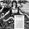 1890 gegründet, steigt der Verband der Fabrikarbeiter Deutschlands zu einer der größten sozialdemokratischen Richtungsgewerkschaften im Deutschen Kaiserreich auf. Schon früh ist die Aufnahme von Arbeiterinnen erlaubt.