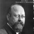 Porträt von Paul Göhre (1919): In seiner Sozialreportage beschreibt er 1891 das Alltagleben in einer Fabrik.