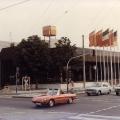 Das Erich-Ollenhauer-Haus im Jahr 1975, bis 1999 bleibt es die Parteizentrale der SPD.