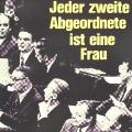 Plakat zu Bundestagswahl 1976: Noch immer sind Frauen im höchsten deutschen Parlament unterrepräsentiert.