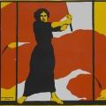 ...ein Plakat zum dazugehörigen Frauentag. Seit 1911 fanden jährlich Frauentage statt.