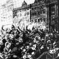 18. März 1848: Vor dem Berliner Stadtschloss eskaliert die Situation. In Barrikadenkämpfen sterben mehr als 250 Menschen.