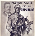Reichspräsidentenwahl 1925: Otto Braun tritt als Kandidat für die SPD an. Dabei ist deutlich welchen
