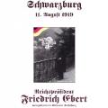 Friedrich Ebert wird eng mit der Unterzeichnung der Weimarer Reichsverfassung verbunden.
