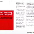 Eine neue Grundsatzdebatte: Auch 2005 erinnert sich die SPD an Godesberg.