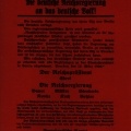 Während des Kapp-Lüttwitz-Putsches musste die Regierung Bauers von Berlin nach Dresden verlegt werden: Flugblatt vom 13. März 1920.