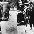 Bildung einer neuen Regierung am 10. Mai 1921: Reichskanzler Joseph Wirth (Zentrum) und Gustav Bauer als nunmehriger Vizekanzler.