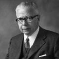 Bundespräsident Gustav Heinemann 1970.