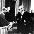 Bereits vor Beginn seiner politischen Karriere trat Heinemann aktiv für Kirche und Glauben ein. Als Bundespräsident trifft er 1973 Papst Paul VI.